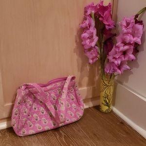 Pink vera bradley shoulder bag